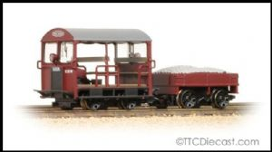Bachmann 32-991 Wickham Type 27 Trolley Car BR Maroon